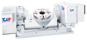FHR Series Extended Cradle Dual Arm Type Tilt Rotary Table